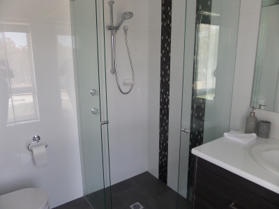 ensuite bathroom in master bedroom