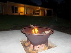 The Refuge - fire pit