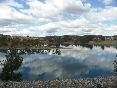 Portland Cement works -lake