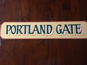 Portland Gate sign by Ron Bidwell