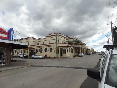 Portland streetscape NSW